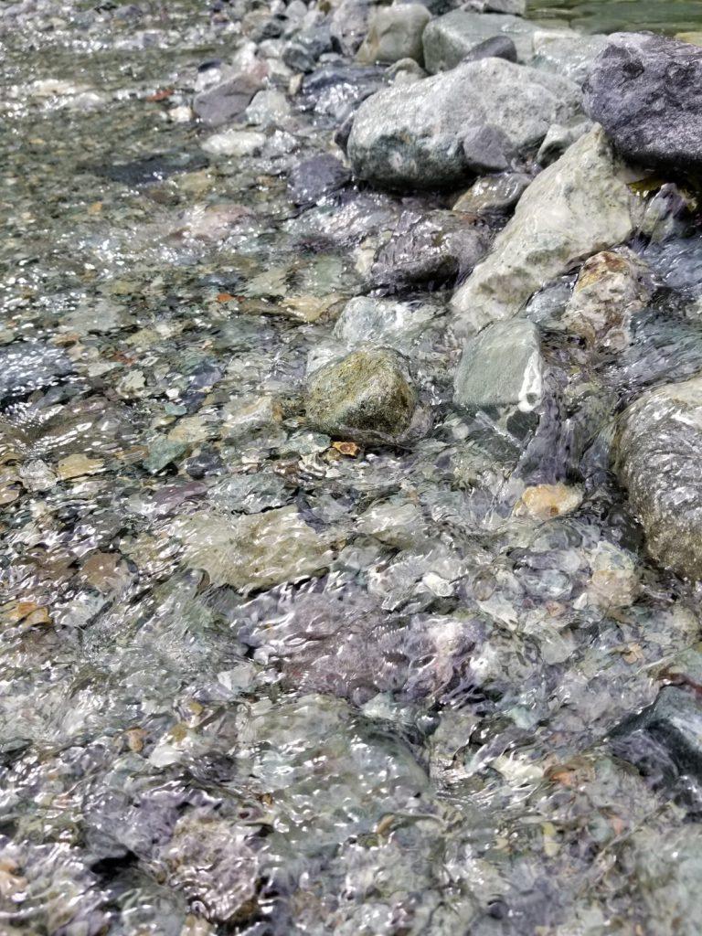 中津川の川