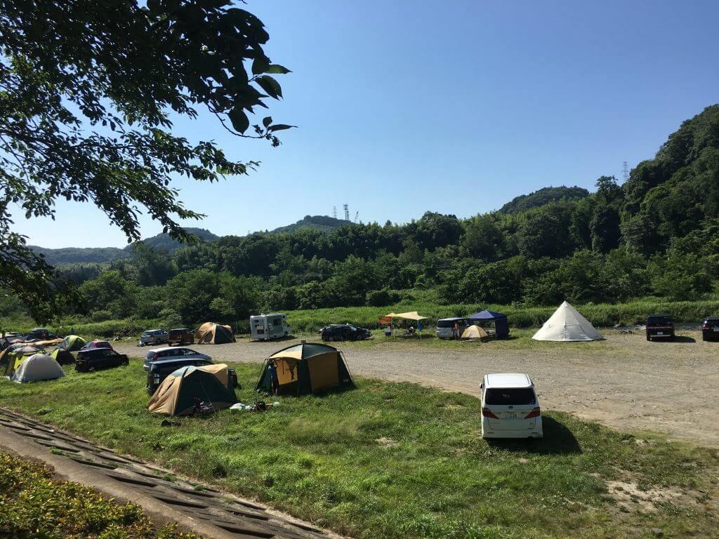 田代運動公園キャンプ
