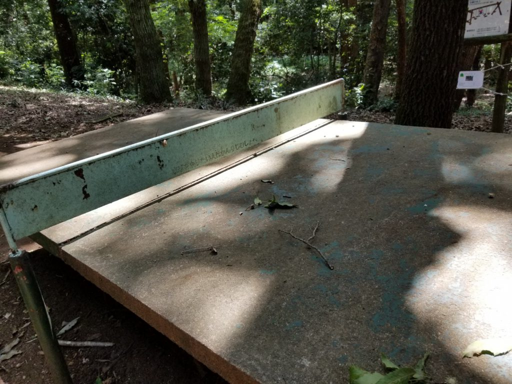 少年の森卓球台